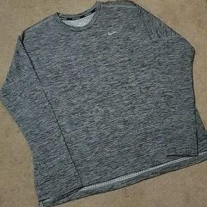 NIKE DriFit Running Long Sleeve Shirt-XL